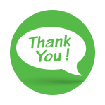 """We Say """"Thank You"""""""