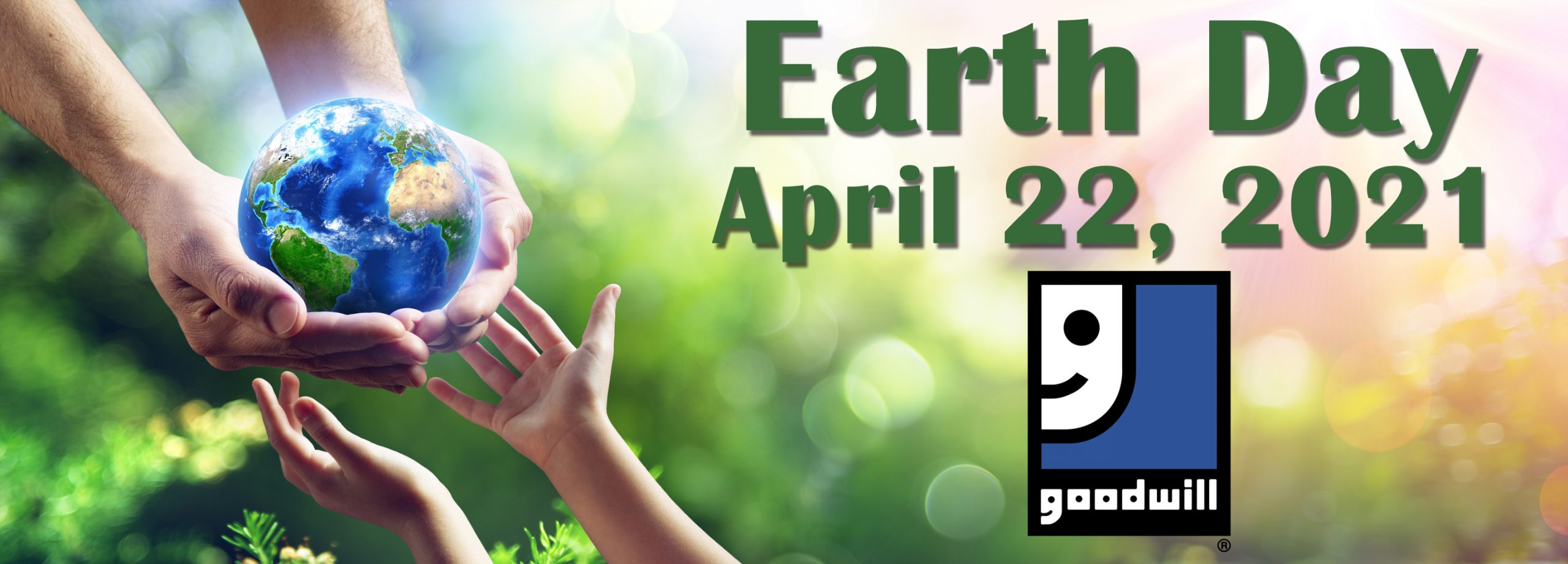 Click to view Goodwill's Earth Day page
